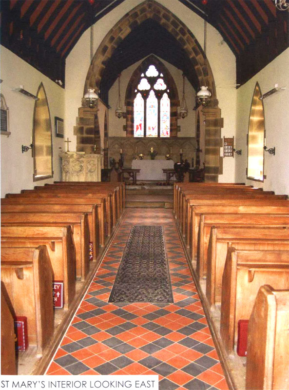 St Mary' Interior Looking East