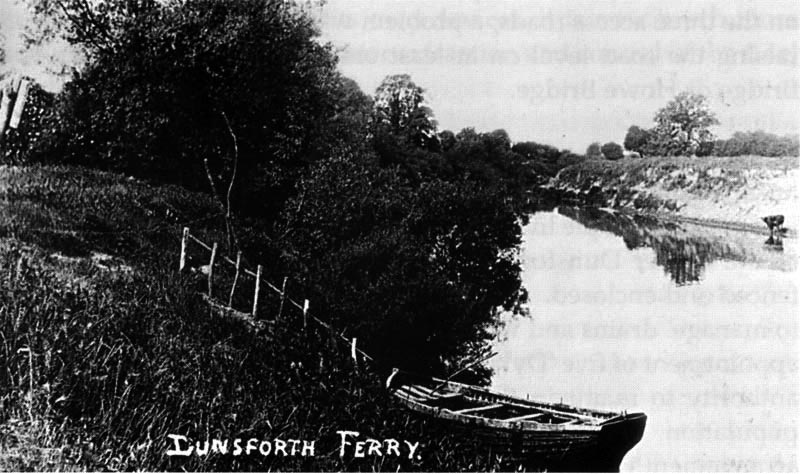 The Dunsforth Ferry