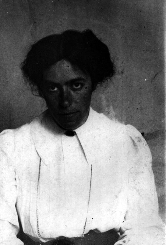 Edith Kruckenberg (Self portrait Circa 1910)